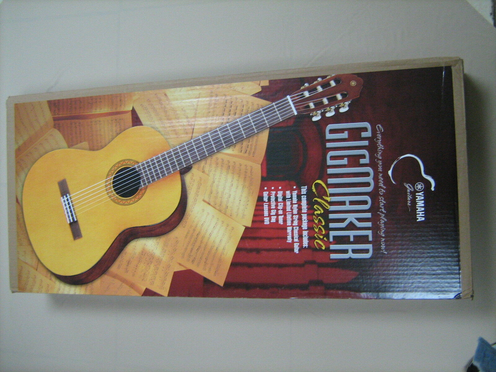 GUITAR ACOUSTIC YAMAHA C80 musical instruments NEW C 80 FREE CASE & TUNER CGT1