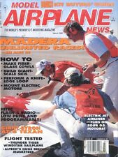 MODEL AIRPLANE NEWS 1995 MAR THUNDER TIGER WINDSTAR, ALTECH BEECHCRAFT MUSKETEER
