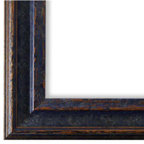 Bilderrahmen Blau Holz Forli 3,7-40x40 40x50 40x60 50x60 50x70 60x80