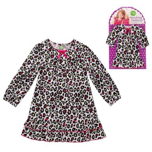 """Dollie and Me 4-7 girl /& 18/"""" doll matching Pajama set  american girl Christmas"""