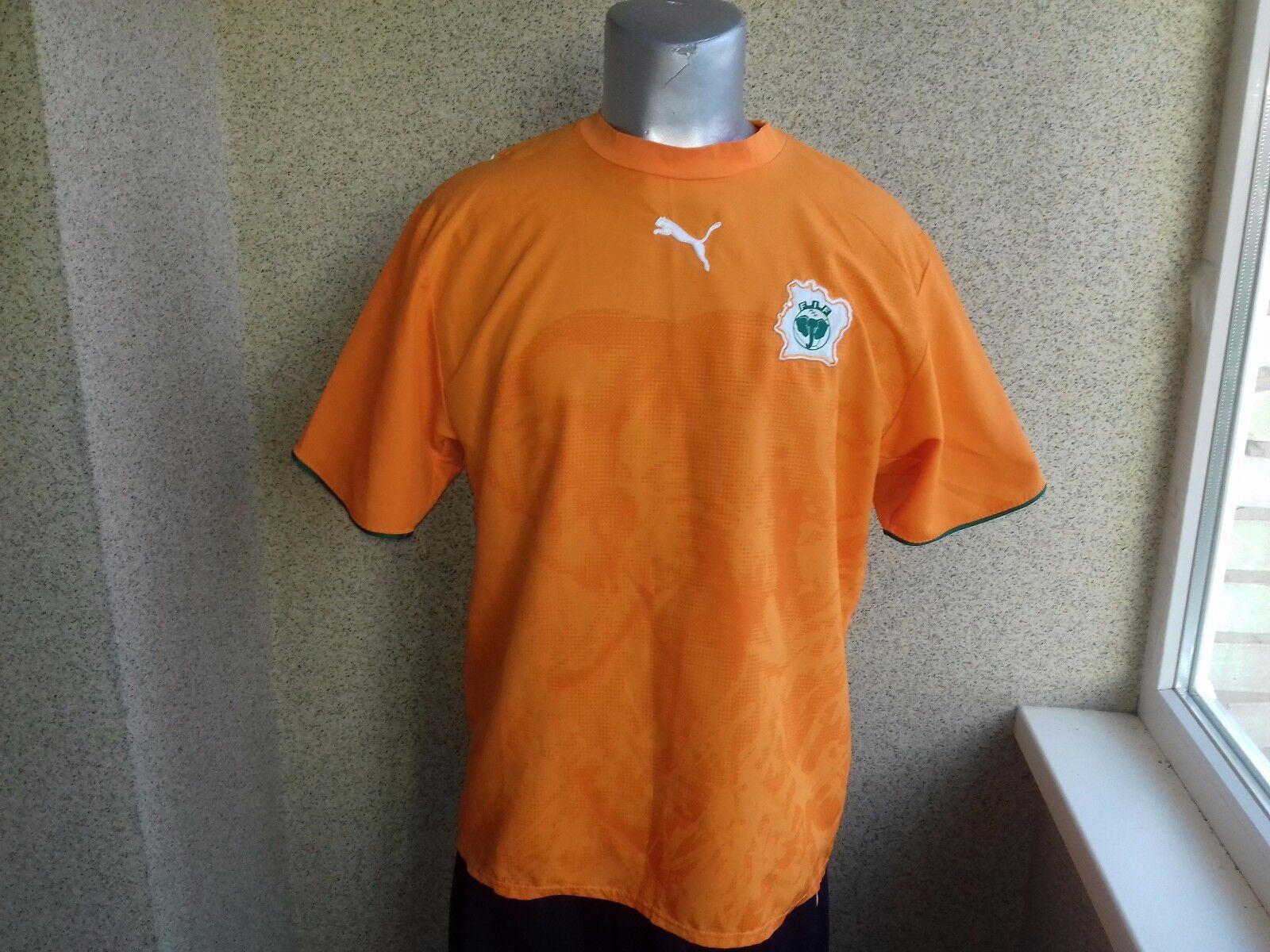 Côte d'Ivoire 20062007  Home football shirt Ivory Coast XL PUMA RARE VERY