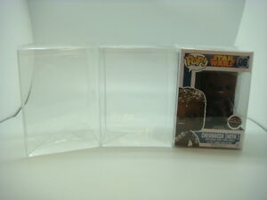 """100 Funko Pop! 4"""" Vinyl Box Protector Acid Free 0.37 mm Thickness with Film"""