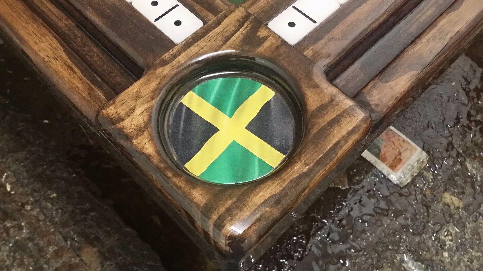 Bob Marley Jamaican Jamaican Jamaican Domino Tables by Art 7ae54c
