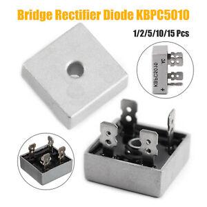 1-15PCS-KBPC5010-50A-1000V-Raddrizzatore-A-Ponte-Diodo-Monofase-Bridge-Rectifier