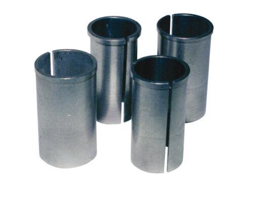 Kalibrierbuchse für 27,2 mm Sattelstütze Durchmesser 30,6 mmsilberHülse