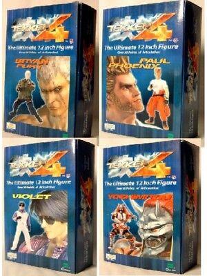 Tekken 4 12 S2 Action Figure Set Bryan Fury Paul Phoenix Violet