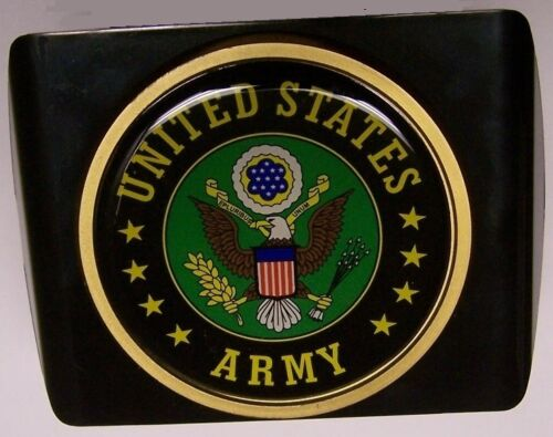 Trailer Hitch Cover Military U S Army Emblem NEW with hitch pin and clip