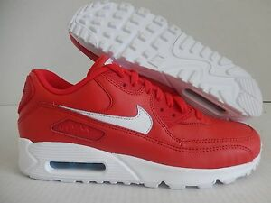Details about NIKE AIR MAX 90 iD RED WHITE SZ 9 [653533 901]