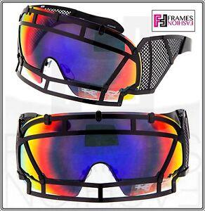 86154bf81869 Image is loading KTZ-x-Linda-Farrow-Football-Helmet-Sunglasses-Black-