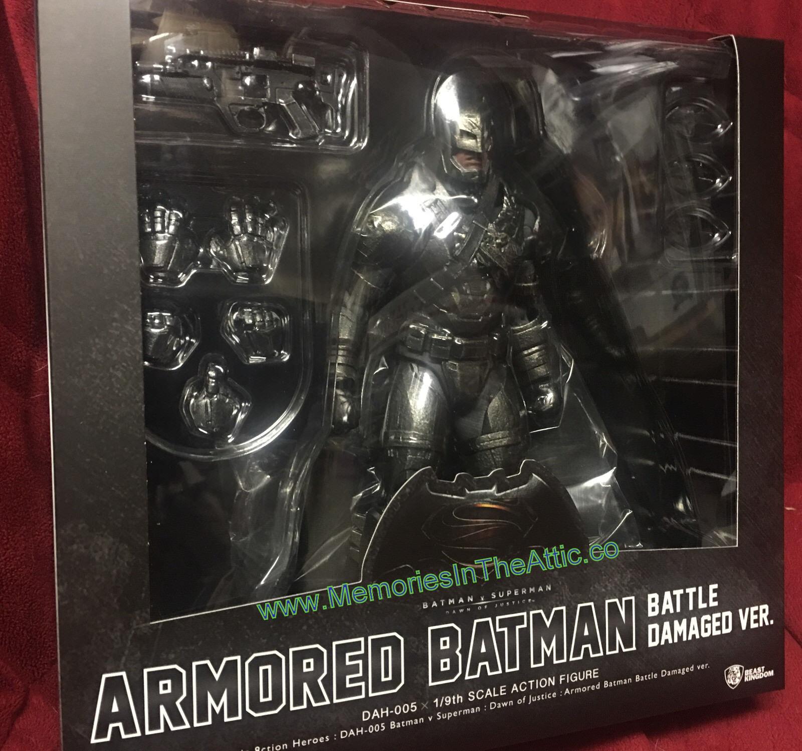 Dynamic 8-ction Armored Batman Batman Batman PX Damage Beast Kingdom BVS DAH-005 Exclusive 1 9 3dfec7