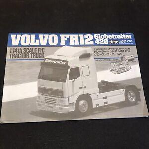 Tamiya Volvo FH12 Build Manual