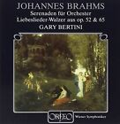 Brahms - Serenade for Orchestra Liebeslieder Walzer Audio CD