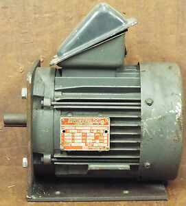 1 used leroy somer te143t 1 5 hp 3 phase motor make for 1 5 hp 3 phase electric motor