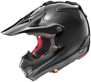 Arai MX-V Plain Gloss Black MXV Motocross Offroad MX Race Helmet Adults