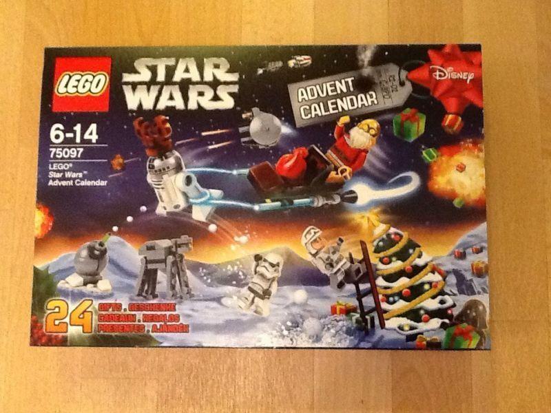 NEW LEGO 75097 Star Wars Christmas Advent Calendar 2015