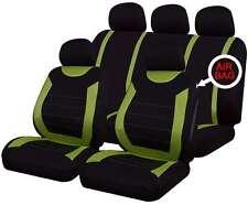 Oxford verde 9 pezzi Set completo di sedile copre per RENAULT MODUS / GRAND MODUS