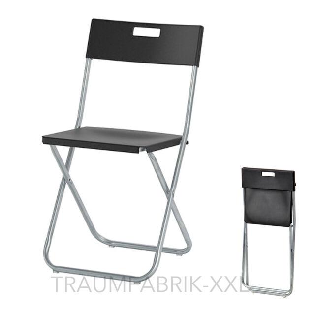 IKEA Chaise Pliante Bureau Confrence VISITEURS Set Pliable Noir