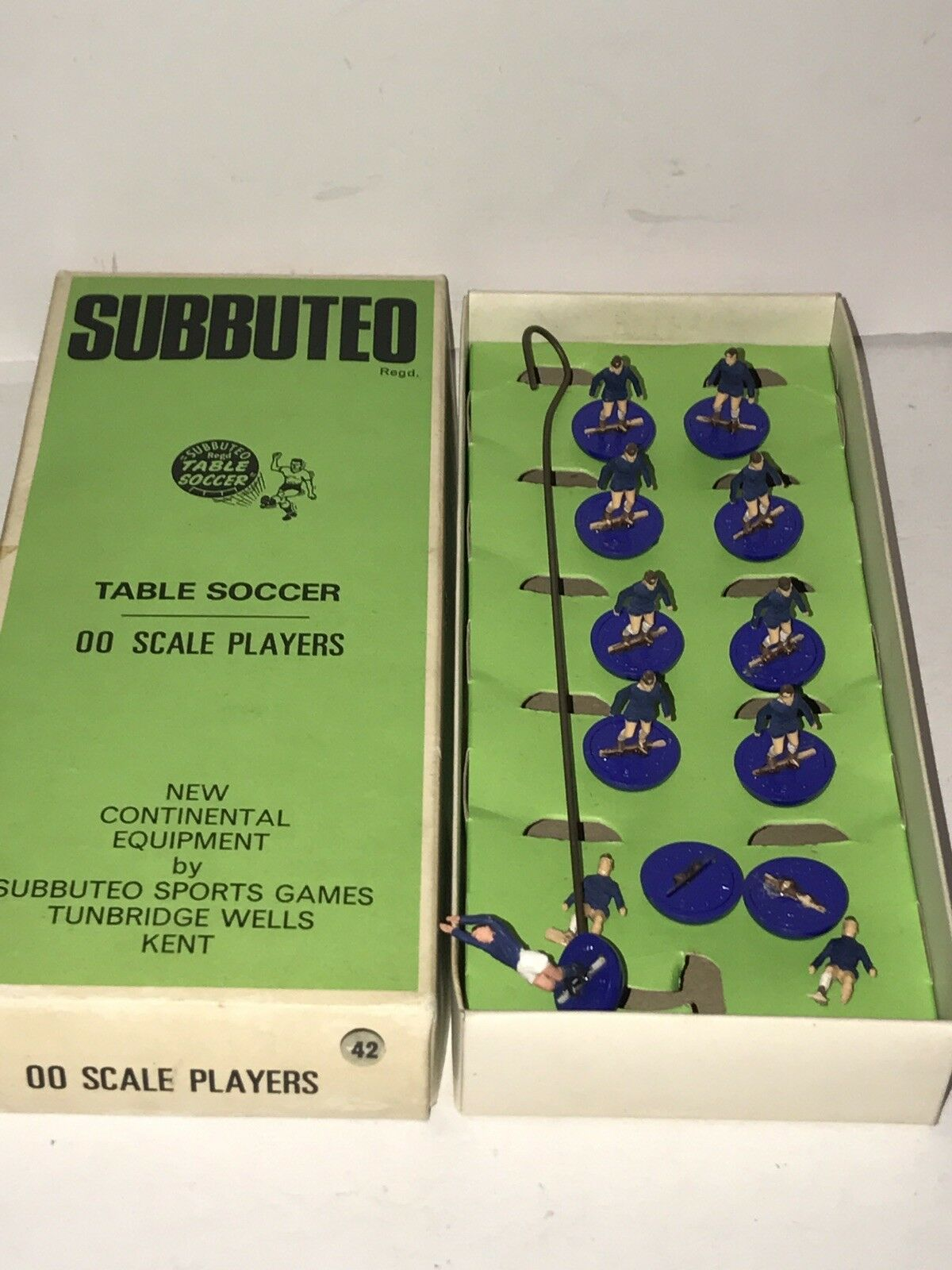 Vintage Subbuteo Table Soccer Game 1970's