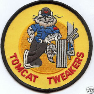 TOMCAT-TWEAKERS-BABY-US-NAVY-PATCH-F-14-TOMCAT-AIRCRAFT-Maintenance-USS-NAS-WOW
