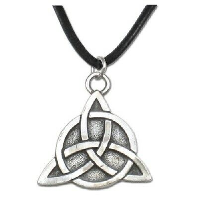 *Celtic Limited Edition Triquetra Pendant Necklace Wiccan Pagan Jewelry CW7