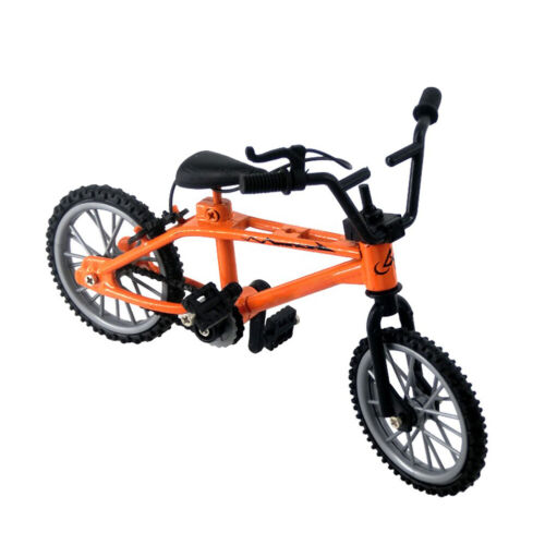 KIDS MINI BMX MOUNTAIN BIKE BICYCLE MODEL TOY ORNAMENT FOR 1//12 DOLL HOUSE
