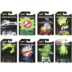 HOT-WHEELS-GHOSTBUSTERS-Diecast-Cars-1-64