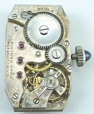Vintage Beola Watch Co. Wristwatch Movement -  Parts / Repair