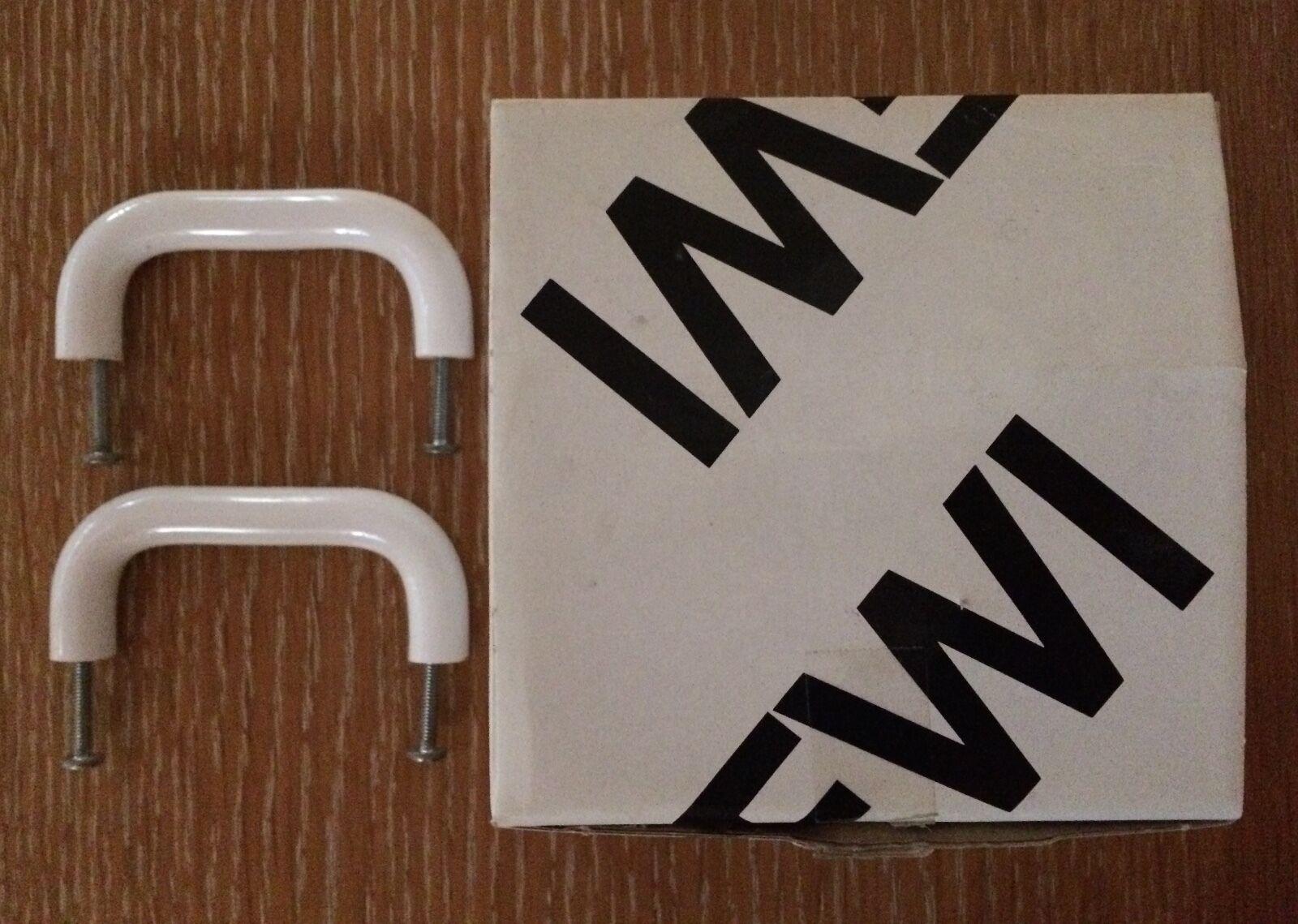 HEWI  548.86  furniture/cabinet pull high quality polyamide Weiß 13 pieces NIB