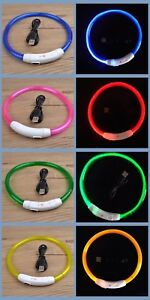PET-LED-LIGHT-UP-Glow-in-the-dark-USB-RECHARGEABLE-COLLAR-Dog-Night-Safety-Flash