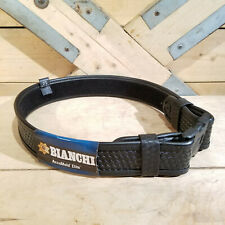 Bianchi Accu Mold Elite Duty Belt 34 40 7950 Leather Basketweave Swanky Barn