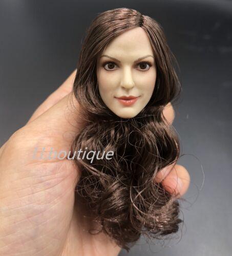 """1//6 Scale Female Head Sculpt un pour custom 12/"""" figure féminine corps poupée"""