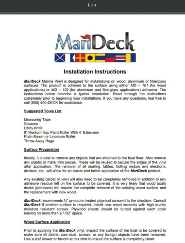 Burgundy MariDeck Boat Marine Outdoor Vinyl Flooring Wine 6/' Wide Roll
