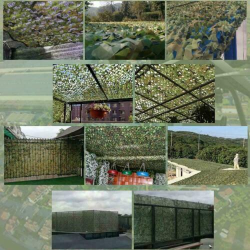 Woodland Desert Leaves Camouflage Camo Net Netting Camping Military Hunting 2×3m