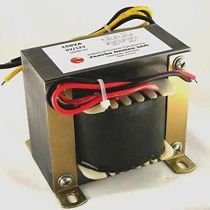 Transformer Electrical Step Down 150va 6 12v Output For
