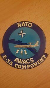 Aufkleber-NATO-AWACS-E-3A-Component-Raritaet