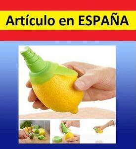 SPRAY-Pulverizador-zumo-d-LIMON-Naranja-gadget-sprai-citricos-exprimidor-difusor