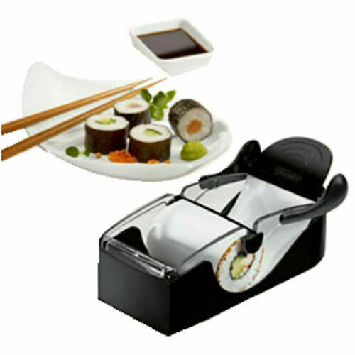 LEIFHEIT 23045 Sushi-Roller Sushi Maker Roller Weinblätter Cevapcici