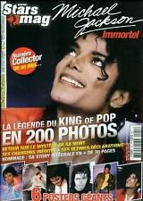 MICHAEL JACKSON MAGAZINE COLLECTOR *NEW STARS MAG* 6 POSTERS GEANT NEUF