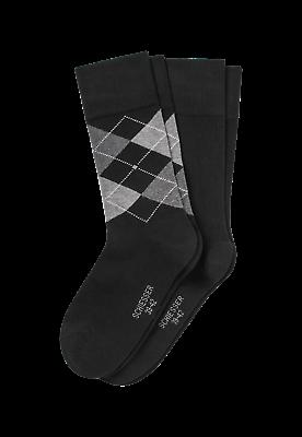 158432 - 000 Schiesser Herren Socken 2er Pack