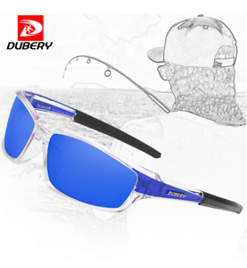 DUBERY Men Polarized Sport Sunglasses Outdoor Fishing Cycling Fashion Glasses