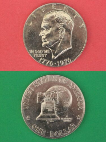 1976 P Type 2 Eisenhower Ike Dollar Brilliant From Mint Set Combined Shipping