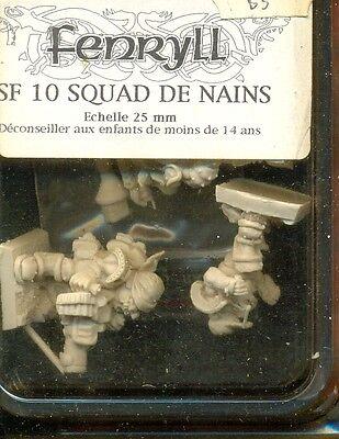 Fenryll 1 Blister Sf10 Squad De Nains