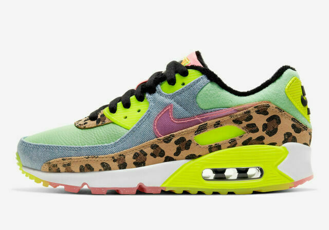 Size 10.5 - Nike Air Max 90 LX Illusion Green 2020 for sale online ...