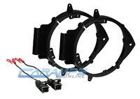 Car Truck Door Speaker Mounting Adapter Brackets For 6.5-6.75 Mount W/ Harness on sale