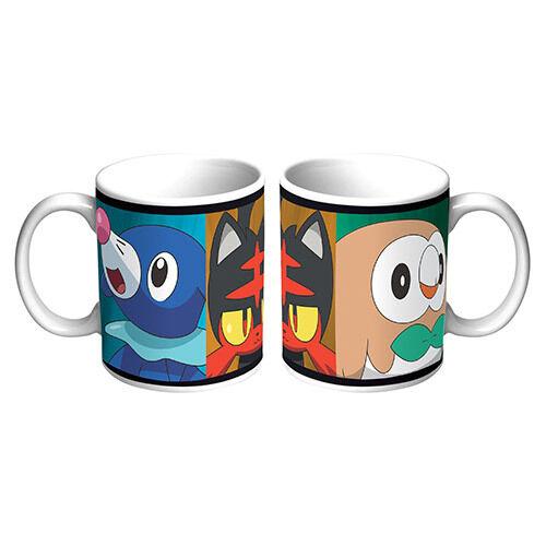 POKEMON GO Sun and Moon Starters Coffee Tea Hot Chocolate Mug Cup Birthday Gift