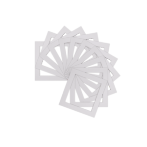 Pack-of-10-Instagram-Square-Picture-Photo-Mounts-Various-Sizes-White