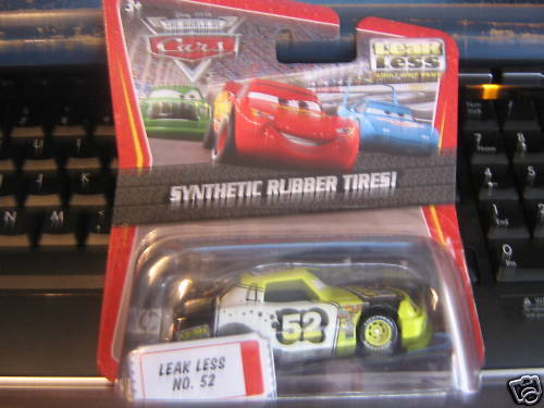 DISNEY PIXAR CARS LEAKLESS SYNTHETIC RUBBER TIRES!