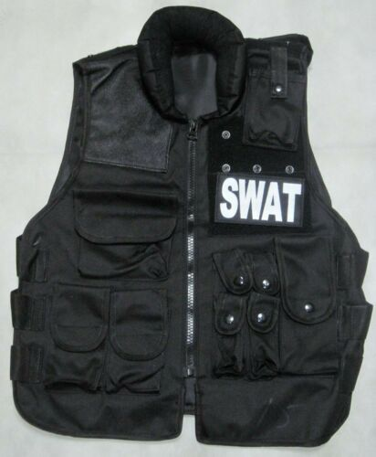 New SWAT Tactical Vest Black---Airsoft Game