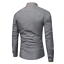 Fashion-Mens-Luxury-Casual-Stylish-Slim-Fit-Long-Sleeve-Casual-Dress-Shirts-Tops thumbnail 7