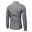 thumbnail 7 - Fashion-Mens-Luxury-Casual-Stylish-Slim-Fit-Long-Sleeve-Casual-Dress-Shirts-Tops